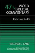 Picture of Word Biblical Commentary: Hebrews 9-13 (Hardcover)